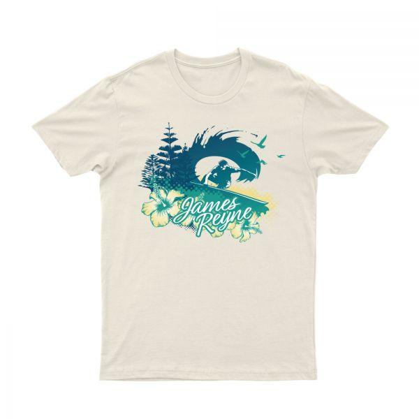 Surfer Natural Tshirt