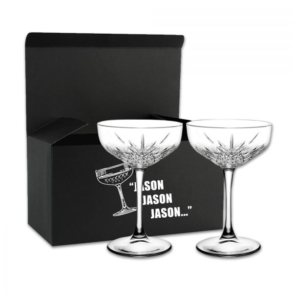 The Guy Who Decides Cocktail Glass Set