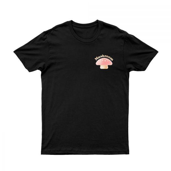 OG Mushroom Black Tshirt