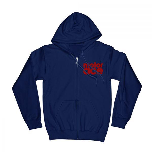 5 Star Laundry Sketch Navy Zip Hood
