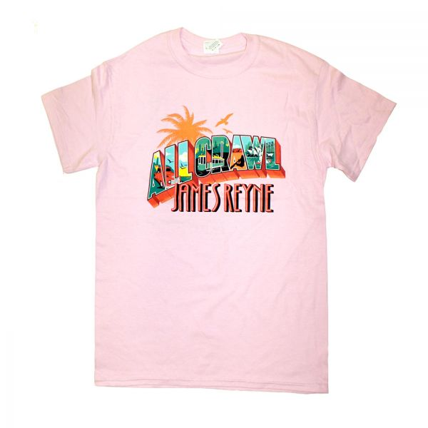 All Crawl Pink Girls Tshirt