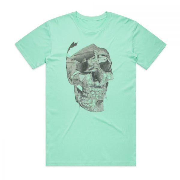 Skull Green Tshirt