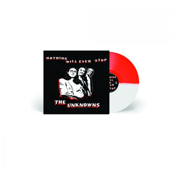Nothing Will Ever Stop (LP) Red/White Vinyl