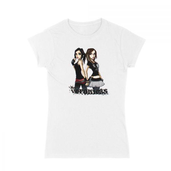 The Veronicas White Tshirt
