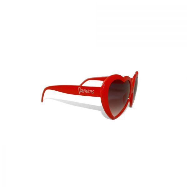 Heart Red Sunglasses