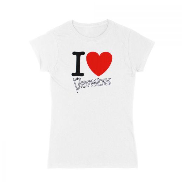 I Heart The Veronicas White Tshirt