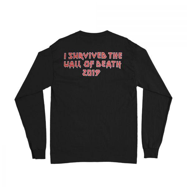 Wall Of Death Longsleeve Black Tshirt