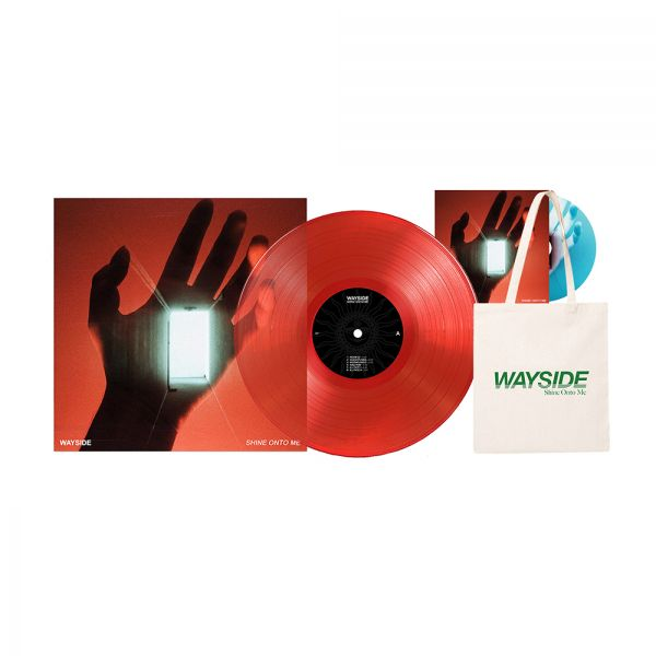 Shine Onto Me LP RED (LP) Vinyl / Tote / Free CD
