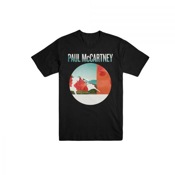 Auckland Floral Black Tshirt One On One World Tour 2017