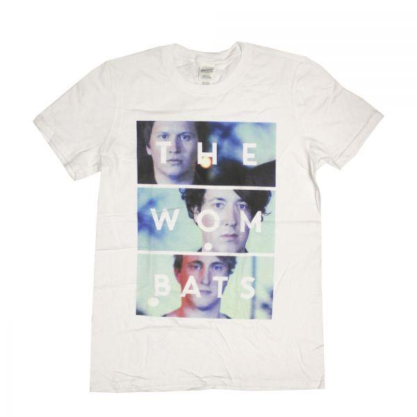 Photo Stack White Tshirt